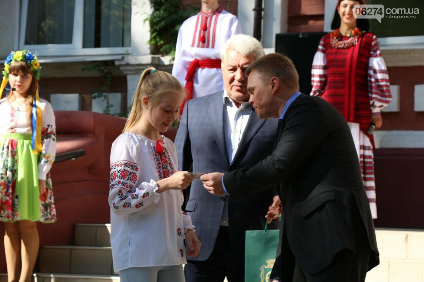 В Бахмуте отметили День государственного флага Украины, фото-14