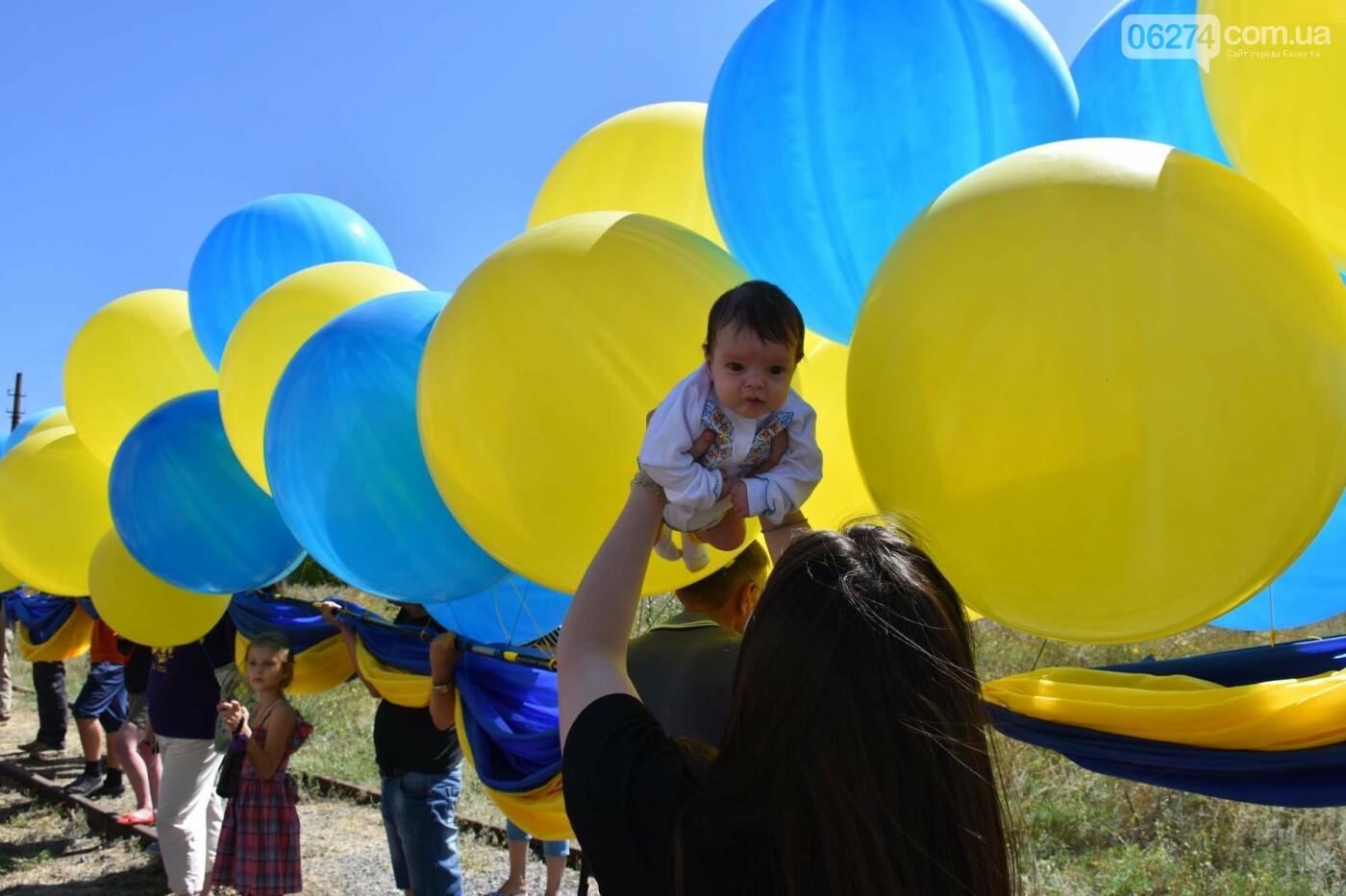 Бахмутчанка сшила флаг Украины для жителей оккупированных территорий, фото-2