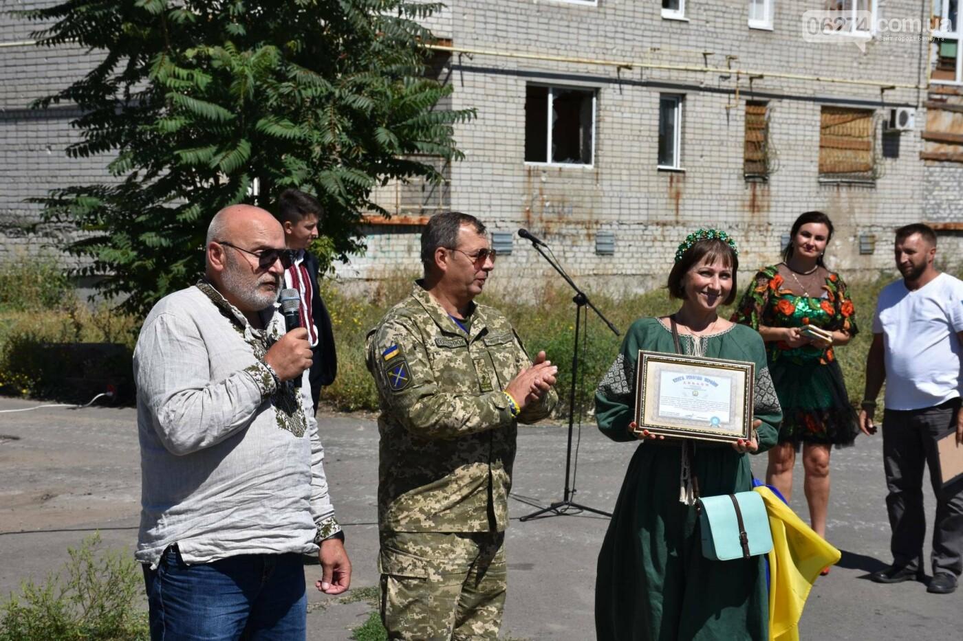 Бахмутчанка сшила флаг Украины для жителей оккупированных территорий, фото-7