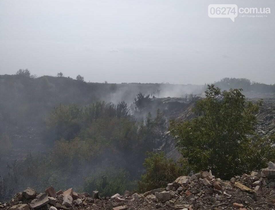 Очередной пожар в Часовом Яре, фото-1