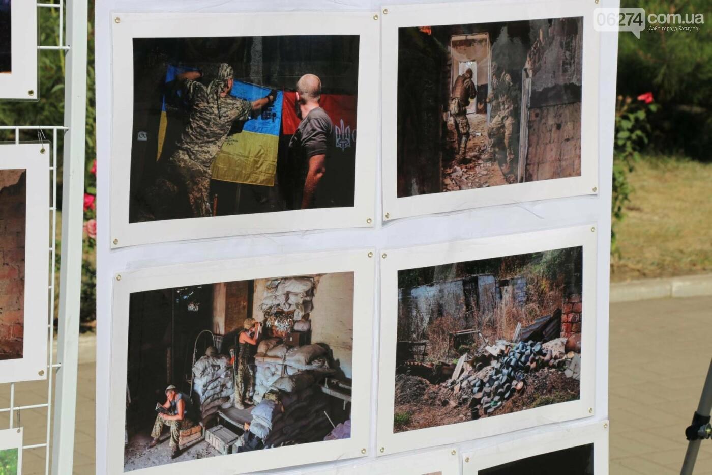 В Бахмуте почтили память жертв Иловайской трагедии, фото-2
