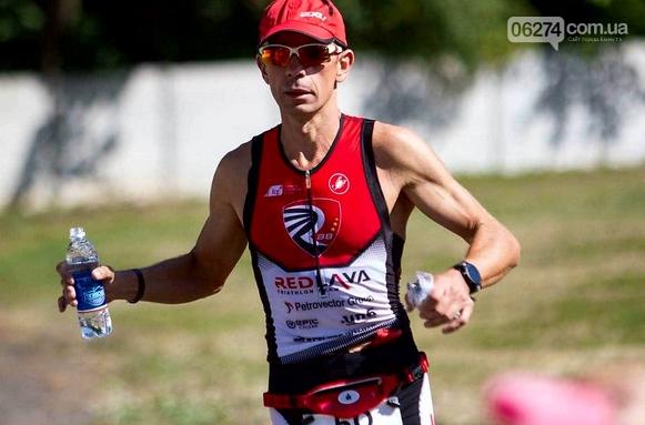 Бахмутчанин Юрий Кожуховский показал высокий результат в триатлоне «Iron Way», фото-1