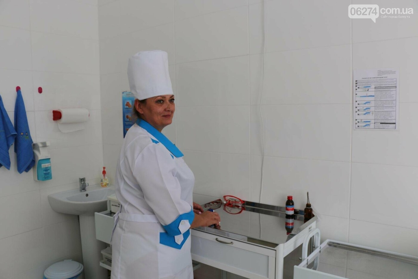 В Бахмуте открыли обновленную амбулаторию, фото-14