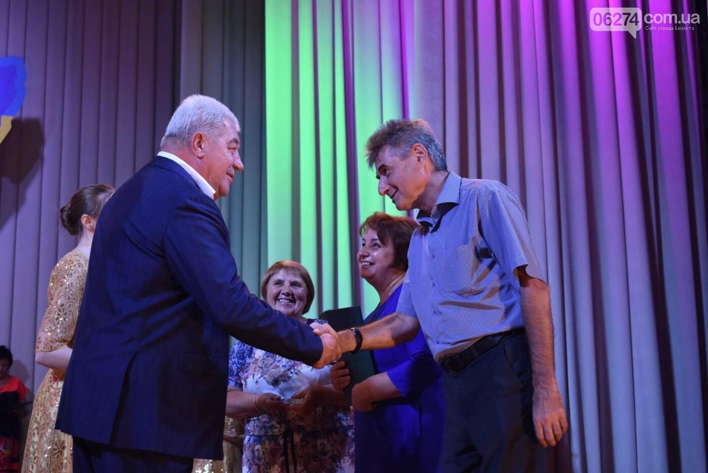 В Бахмуте состоялся торжественный прием городского головы Алексея Ревы, фото-11