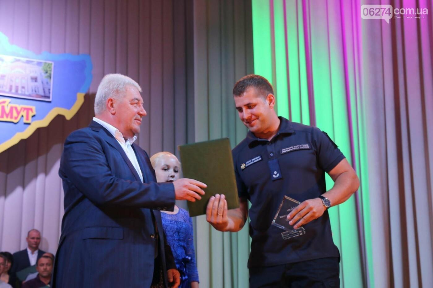 В Бахмуте состоялся торжественный прием городского головы Алексея Ревы, фото-20