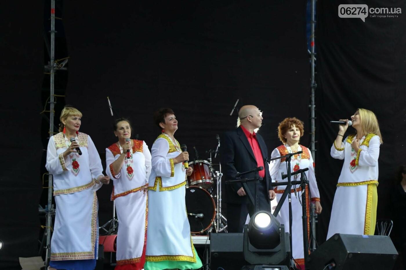 Ярким концертом завершился День города в Бахмуте (ФОТО), фото-6