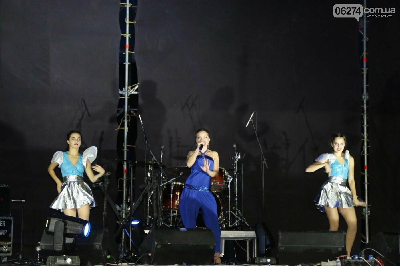 Ярким концертом завершился День города в Бахмуте (ФОТО), фото-8