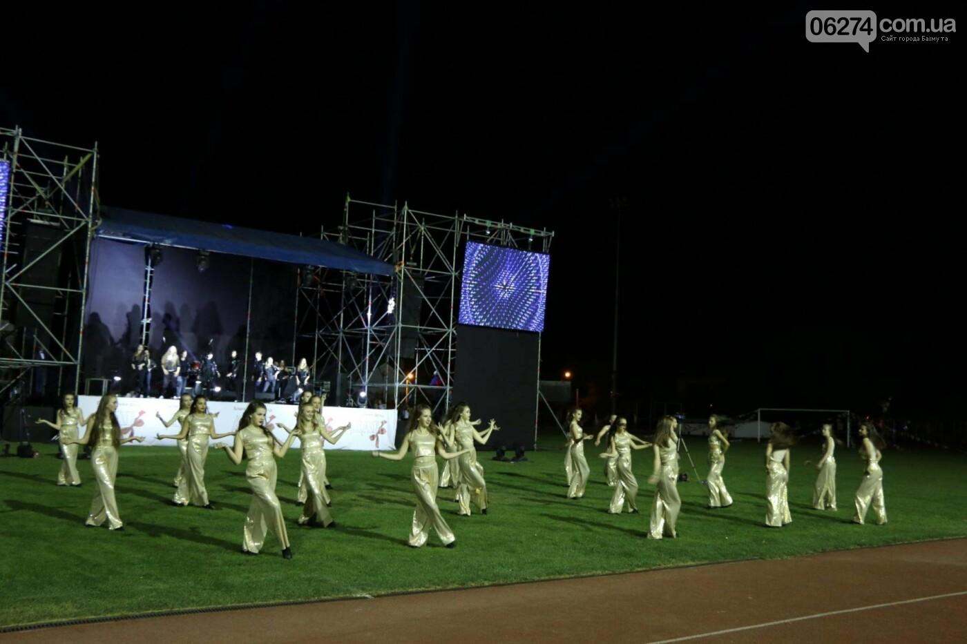 Ярким концертом завершился День города в Бахмуте (ФОТО), фото-20