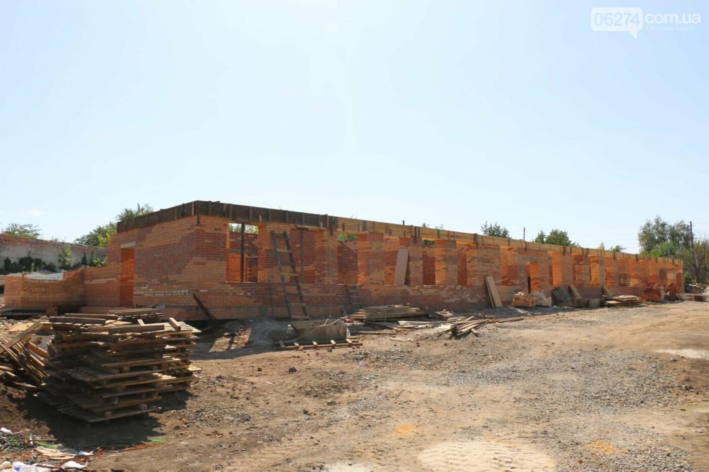 В Бахмуте продолжаются работы по строительству Социального офиса, фото-1