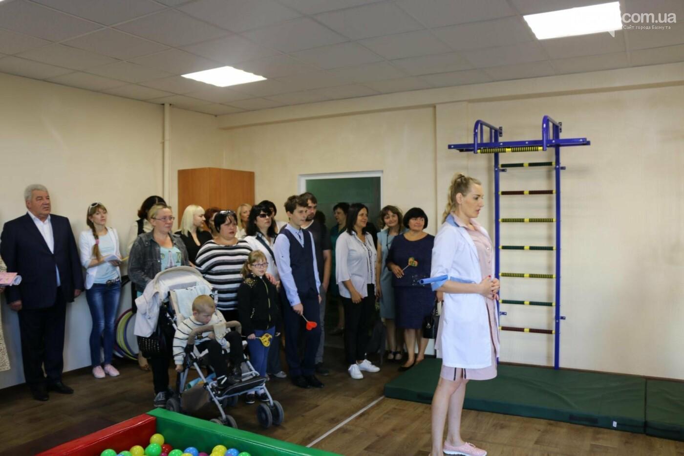 В Бахмуте открыт Инклюзивно-ресурсный центр для детей с особыми потребностями, фото-8
