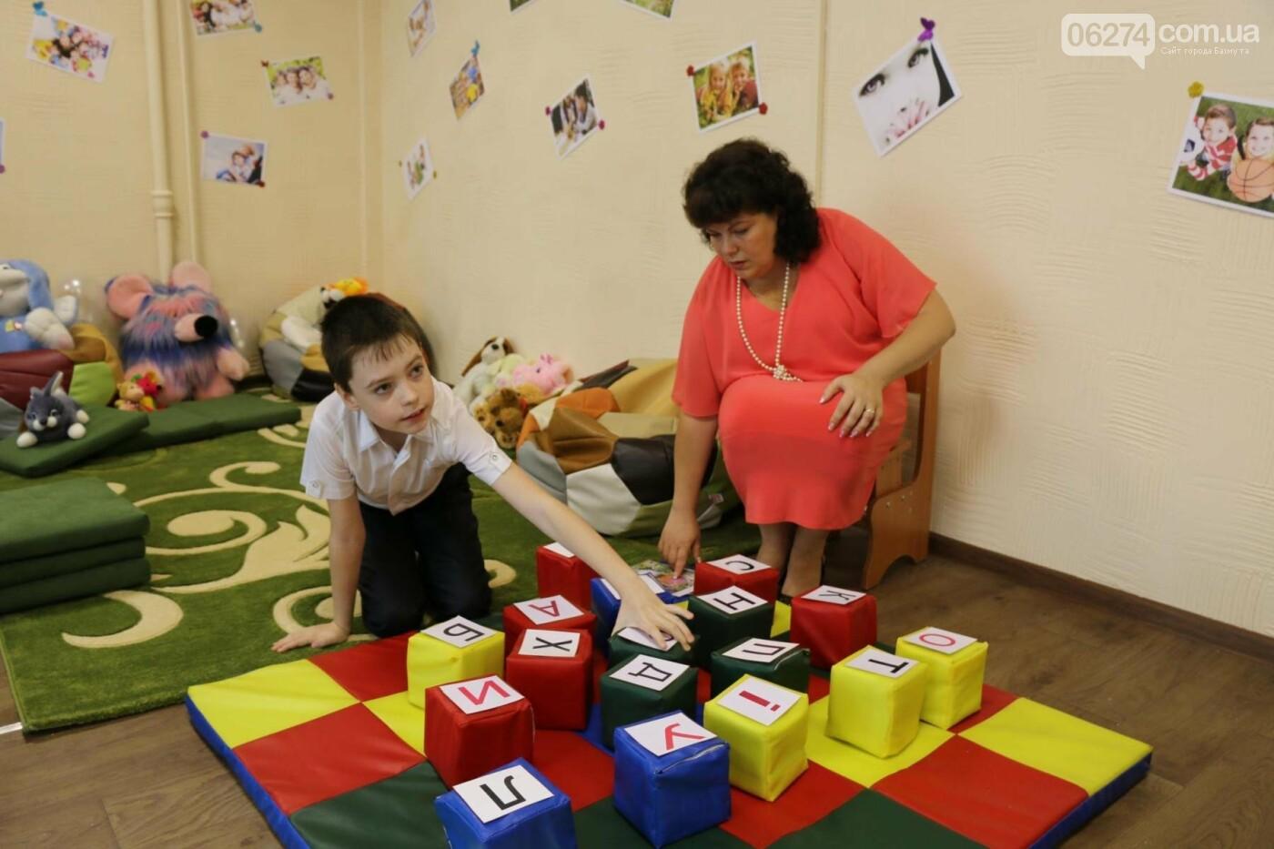 В Бахмуте открыт Инклюзивно-ресурсный центр для детей с особыми потребностями, фото-13