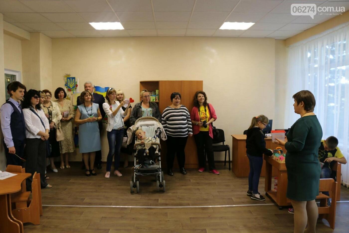 В Бахмуте открыт Инклюзивно-ресурсный центр для детей с особыми потребностями, фото-14