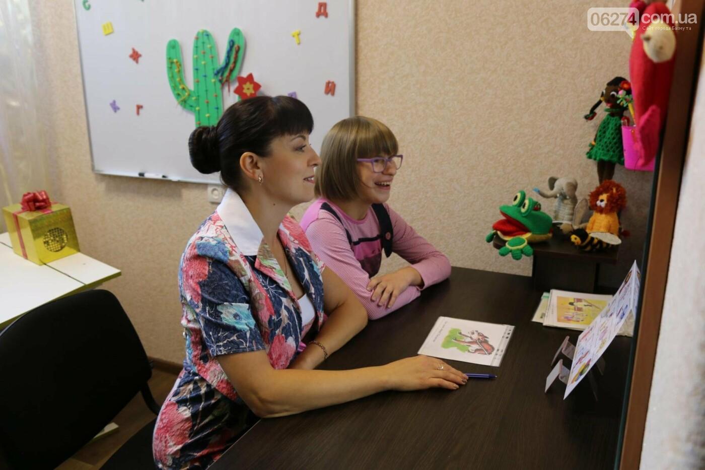 В Бахмуте открыт Инклюзивно-ресурсный центр для детей с особыми потребностями, фото-17