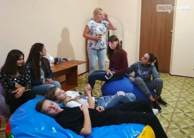 Ученики Бахмутской ОШ №10 провели ночь в школе, фото-7