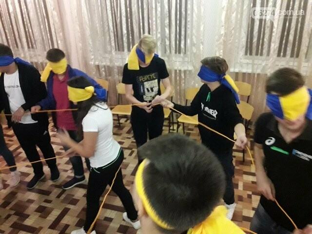 Ученики Бахмутской ОШ №10 провели ночь в школе, фото-6