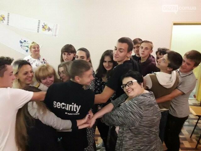 Ученики Бахмутской ОШ №10 провели ночь в школе, фото-4