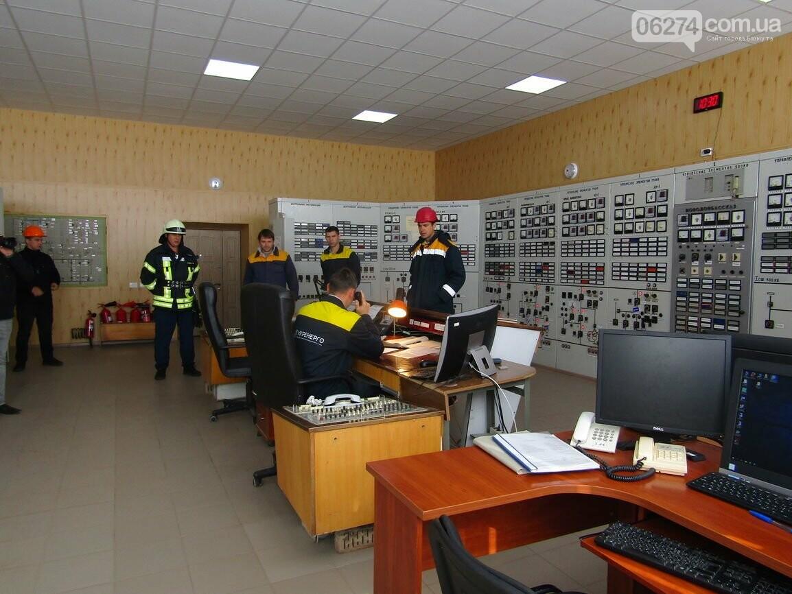 В Бахмуте спасатели провели совместные учения с работниками подстанции «Донбасская» (ФОТО), фото-2