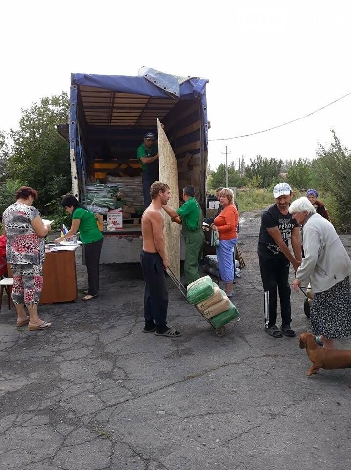 ADRA Ukraine доставила стройматериалы жителям прифронтовых населенных пунктов Бахмутского района, фото-1