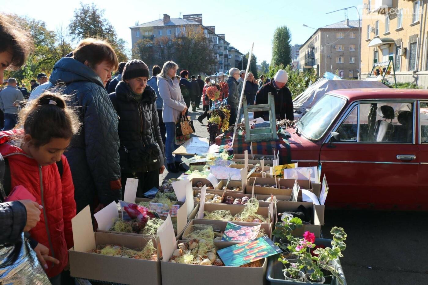 В Бахмуте прошла ярмарка «День садовода» (ФОТО), фото-12