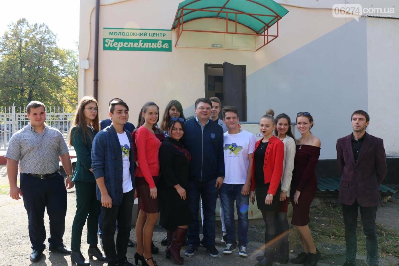 Бахмут посетил министр молодежи и спорта Украины, фото-8