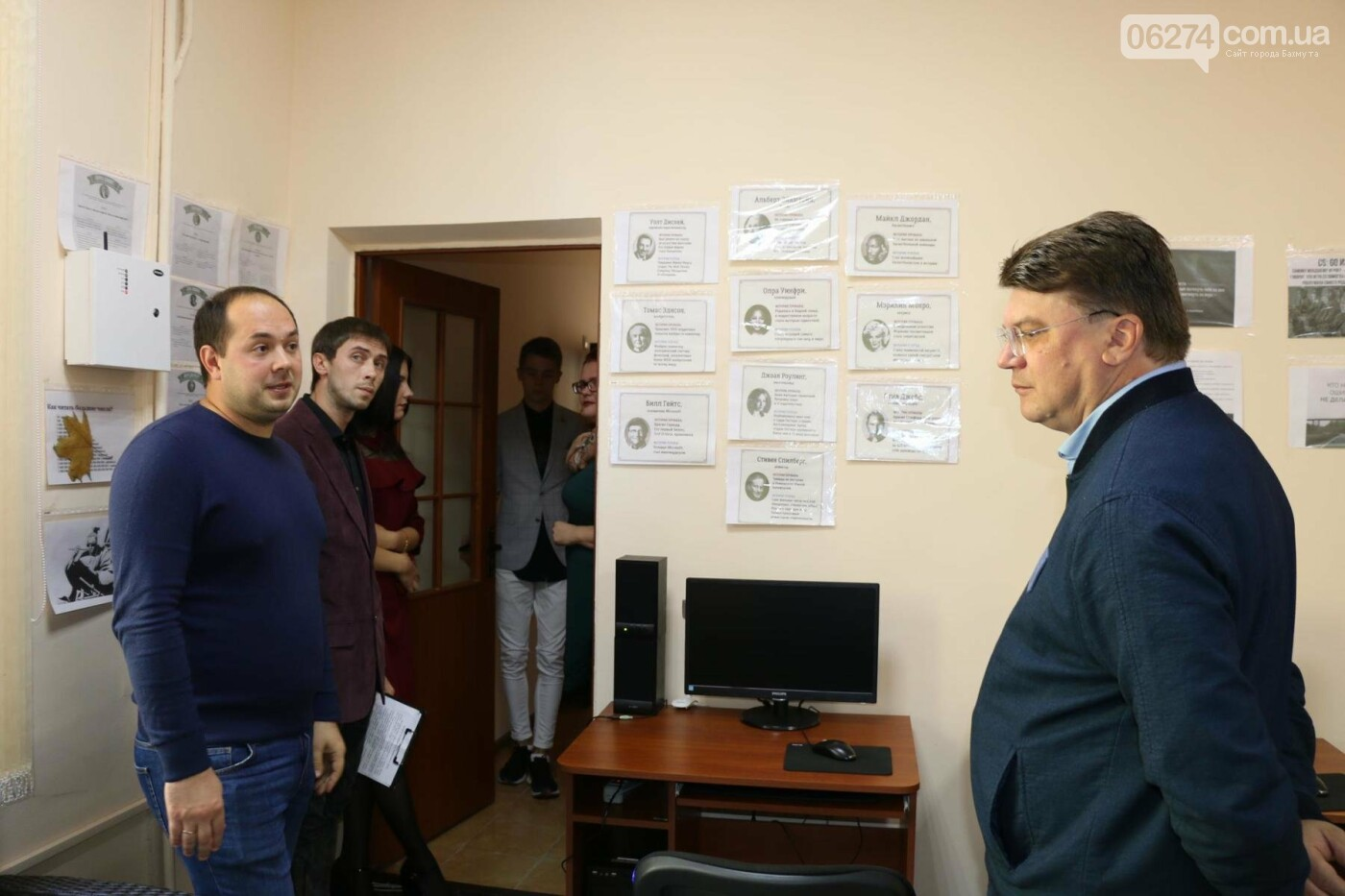Бахмут посетил министр молодежи и спорта Украины, фото-3