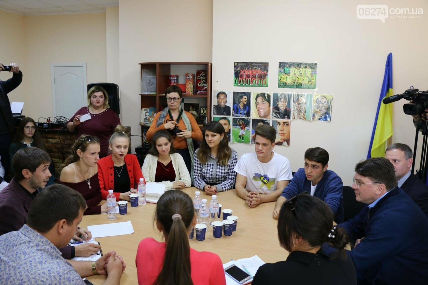 Бахмут посетил министр молодежи и спорта Украины, фото-6
