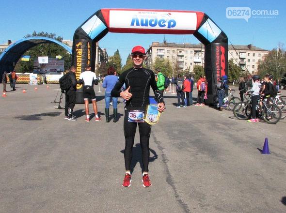 Бахмутчанин Юрий Кожуховский – серебряный призер славянского дуатлона, фото-2
