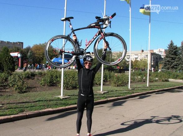 Бахмутчанин Юрий Кожуховский – серебряный призер славянского дуатлона, фото-1