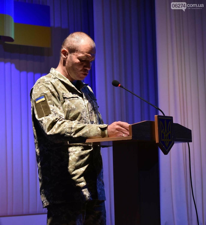 В Бахмуте празднуют День защитника Украины, фото-7