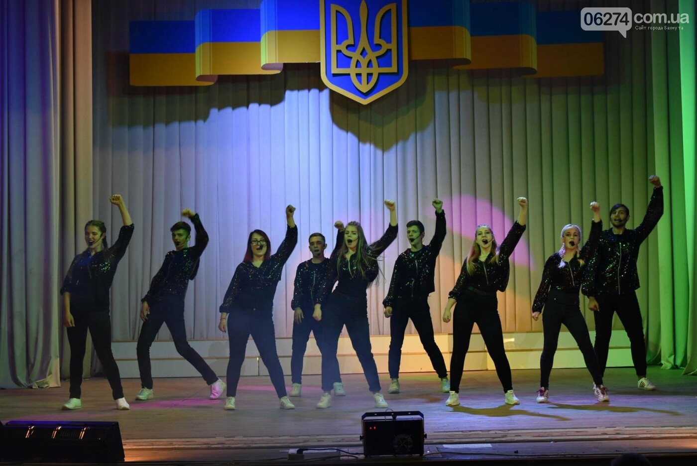 В Бахмуте празднуют День защитника Украины, фото-17