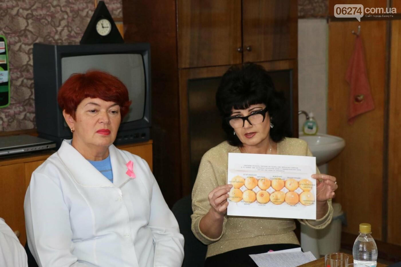 В Бахмуте медики обсудили методы борьбы с раком молочной железы, фото-2
