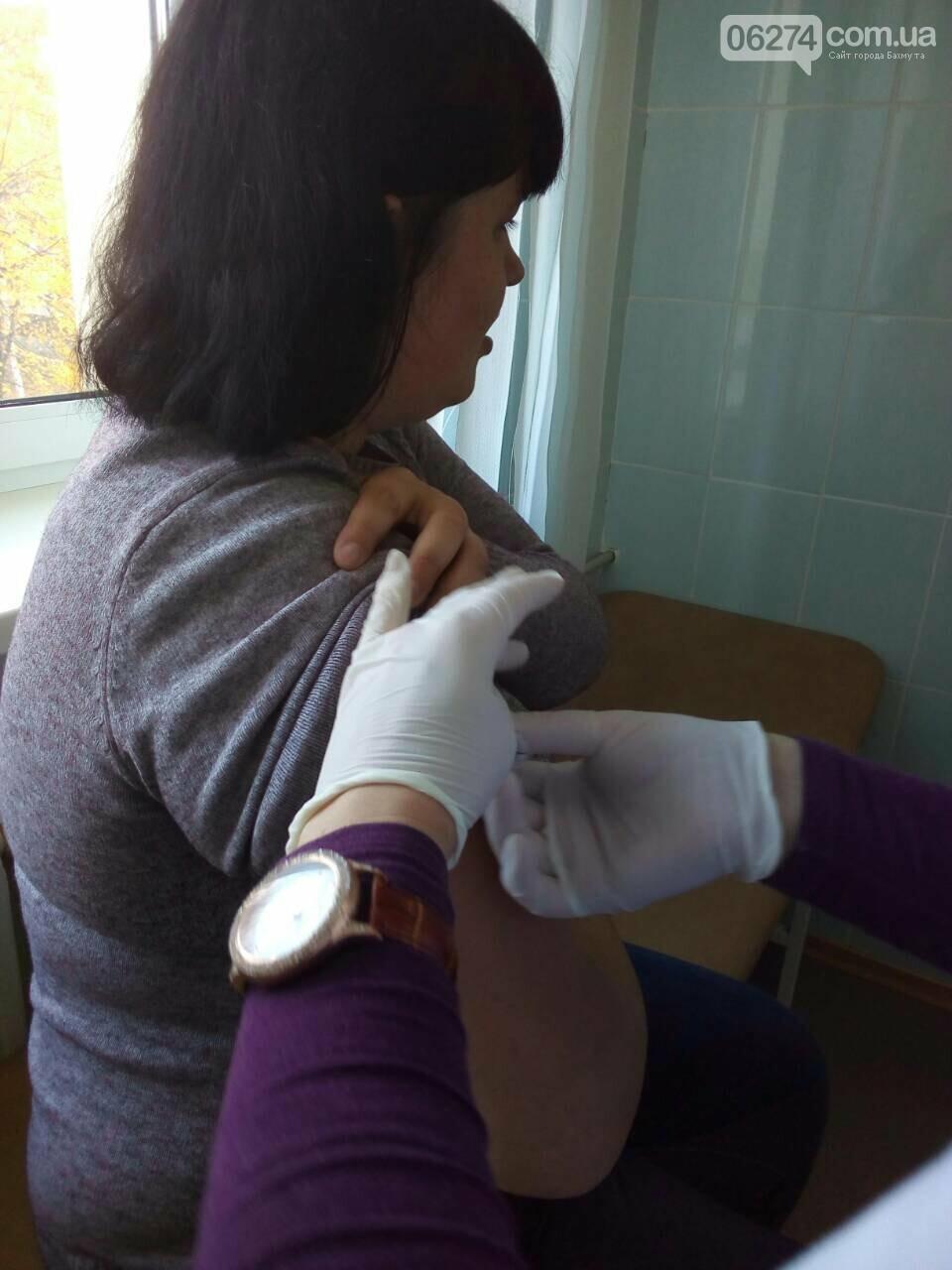 Медицинские работники «первички» Бахмута готовятся к эпидемическому сезону гриппа, фото-6