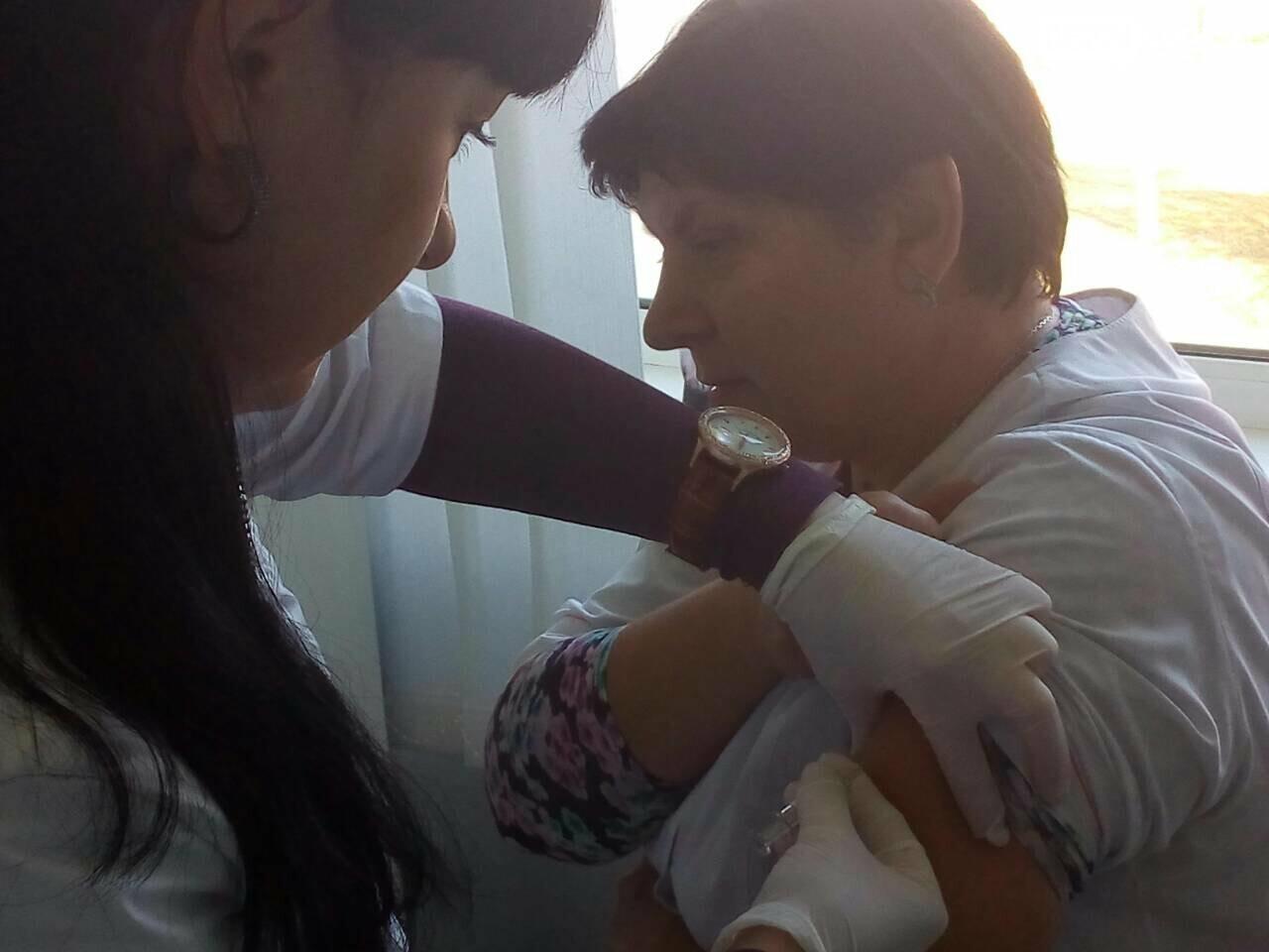 Медицинские работники «первички» Бахмута готовятся к эпидемическому сезону гриппа, фото-5