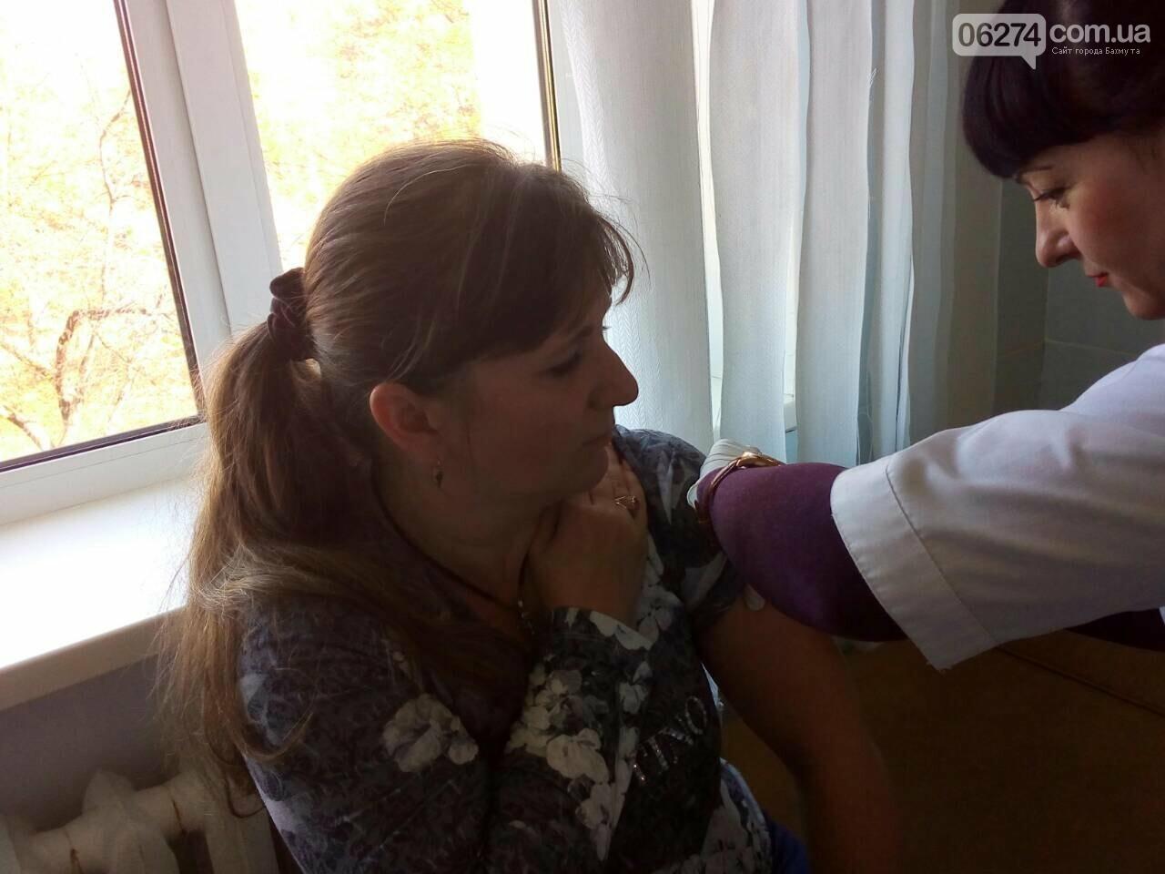 Медицинские работники «первички» Бахмута готовятся к эпидемическому сезону гриппа, фото-4