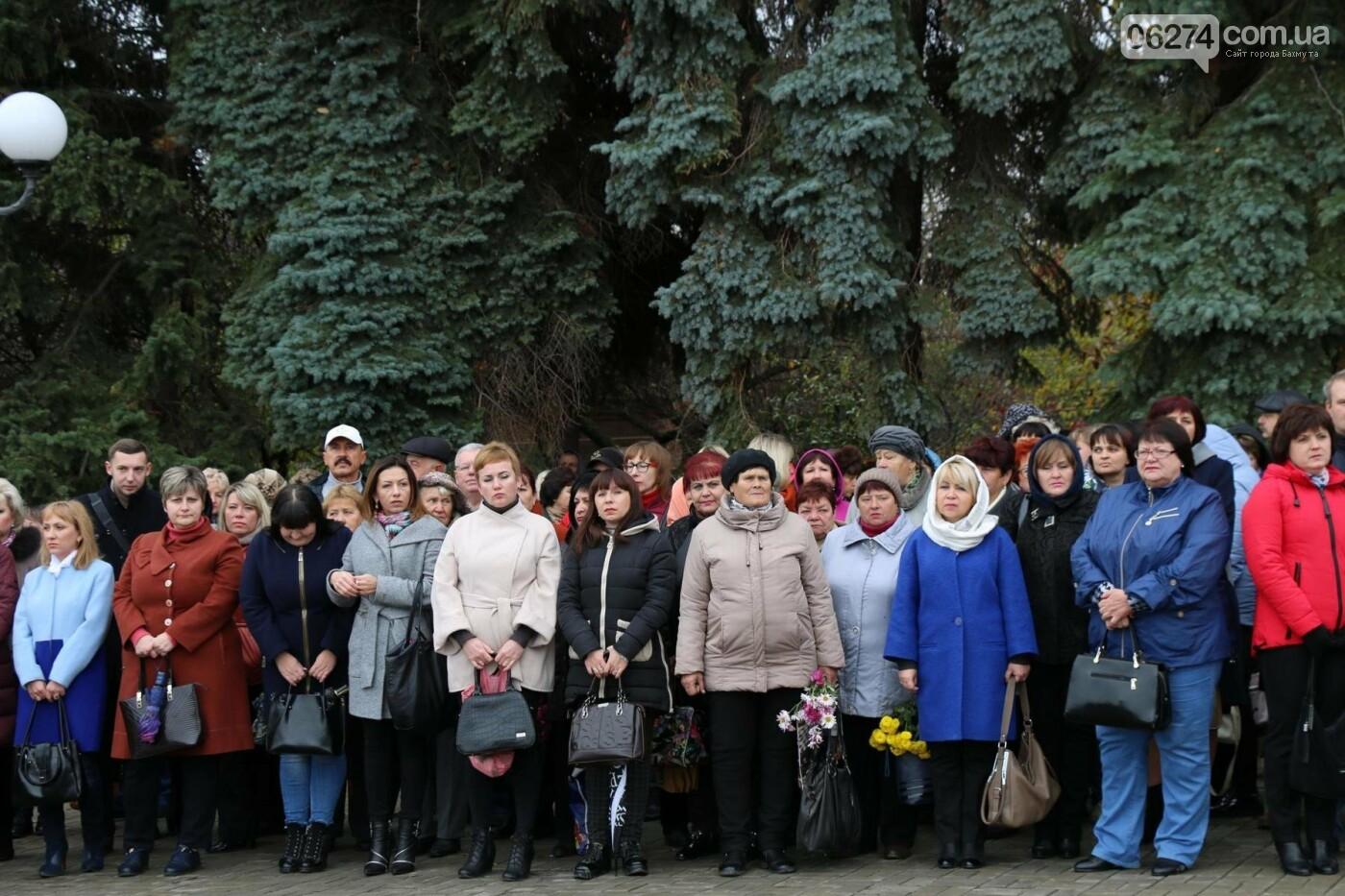 В Бахмуте отметили День освобождения Украины от фашистских захватчиков, фото-4