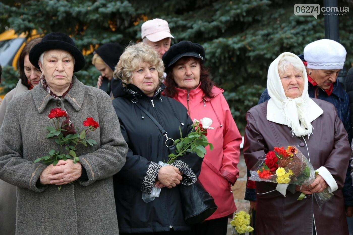 В Бахмуте отметили День освобождения Украины от фашистских захватчиков, фото-7