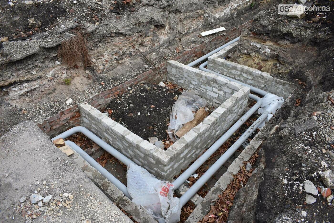 В Бахмуте продолжается реконструкция врачебно-физкультурного диспансера, фото-10