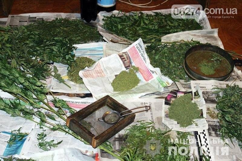 Несколько килограммов марихуаны изъяли полицейские у жителя Соледара, фото-4