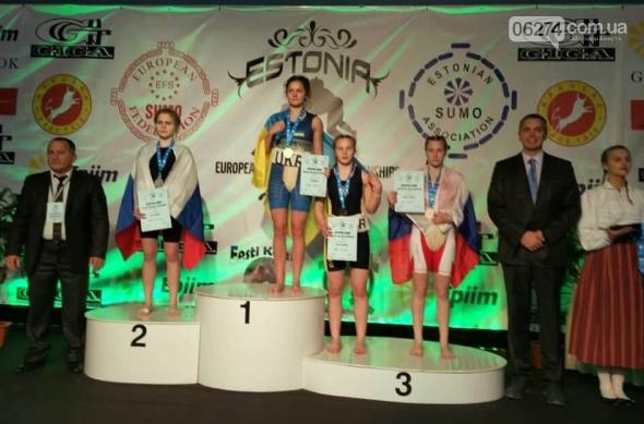 Бахмутчанки завоевали четыре награды Европейского континентального чемпионата по сумо, фото-3