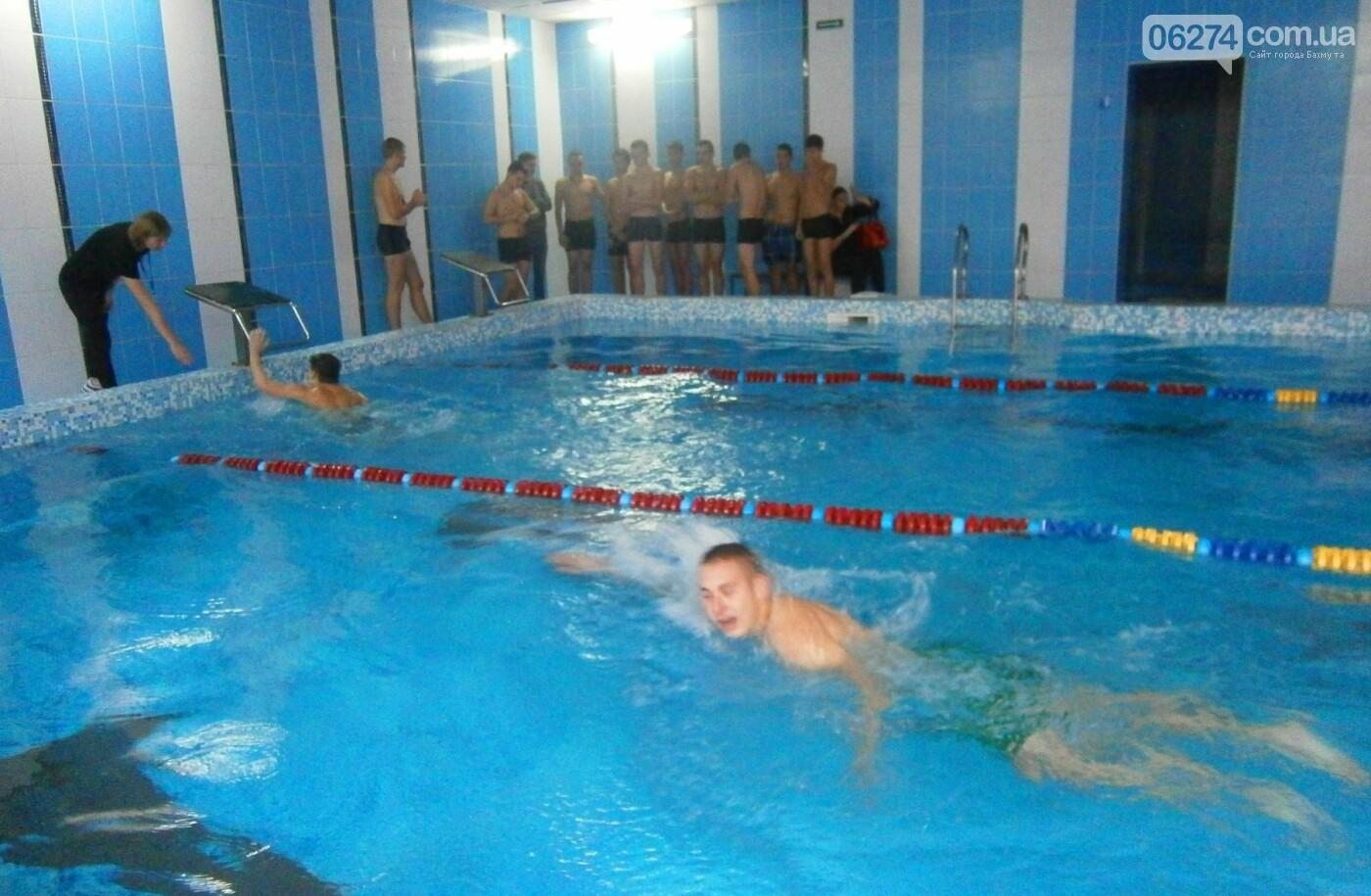 Плавательный сезон в ДЮК «Дельфин» начали старшеклассники Бахмута, фото-3
