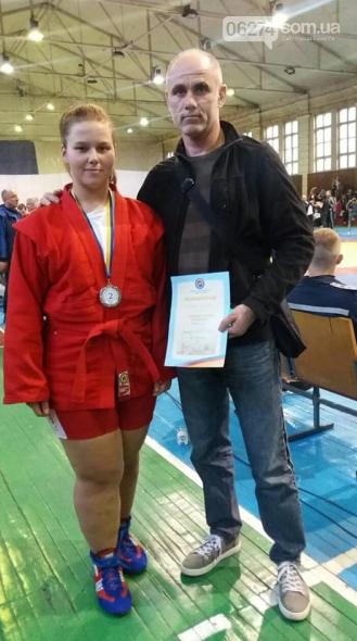 Самбистка Бахмута завоевала «серебро» Чемпионата Украины во Львове, фото-4