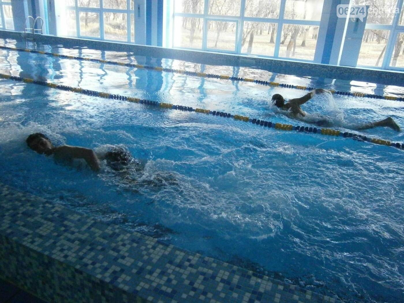 В Бахмуте полицейские охраны со всей области соревновались в плавании, фото-1