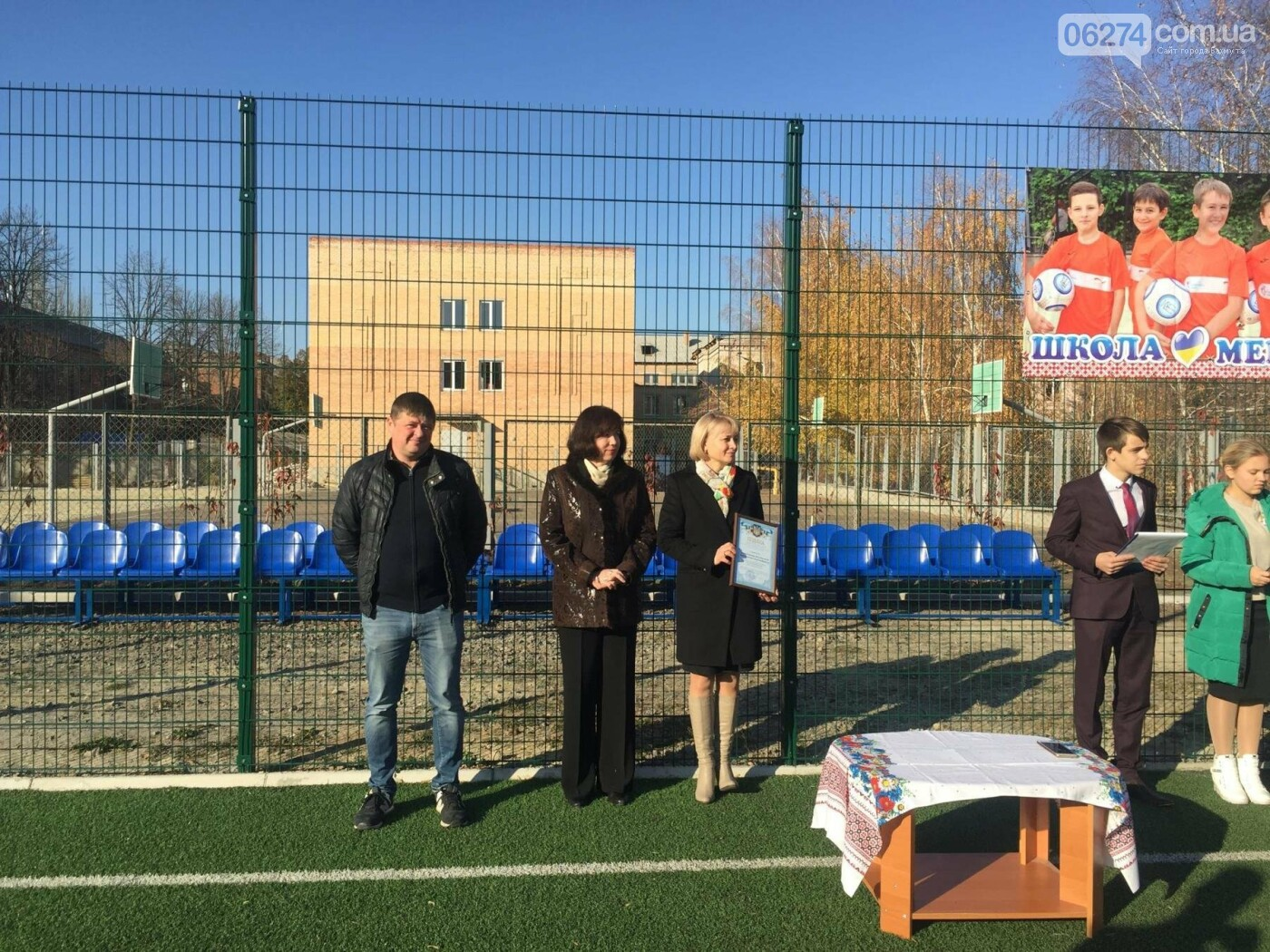 В Бахмутском УВК №11 усовершенствовали школьный стадион, фото-3
