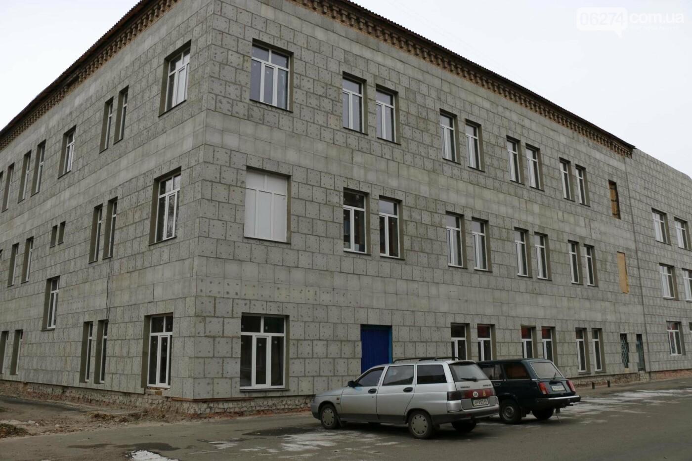 Глава области проинспектировал ход выполнения строительных работ в Бахмутском колледже искусств, фото-11