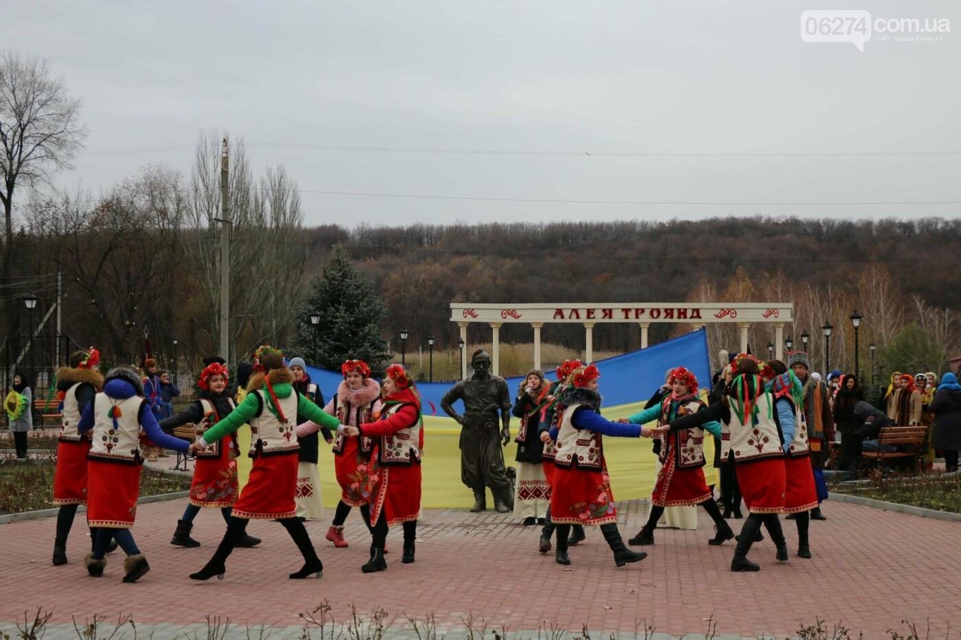 В Бахмуте завершилась реконструкция Казацкого парка, фото-11