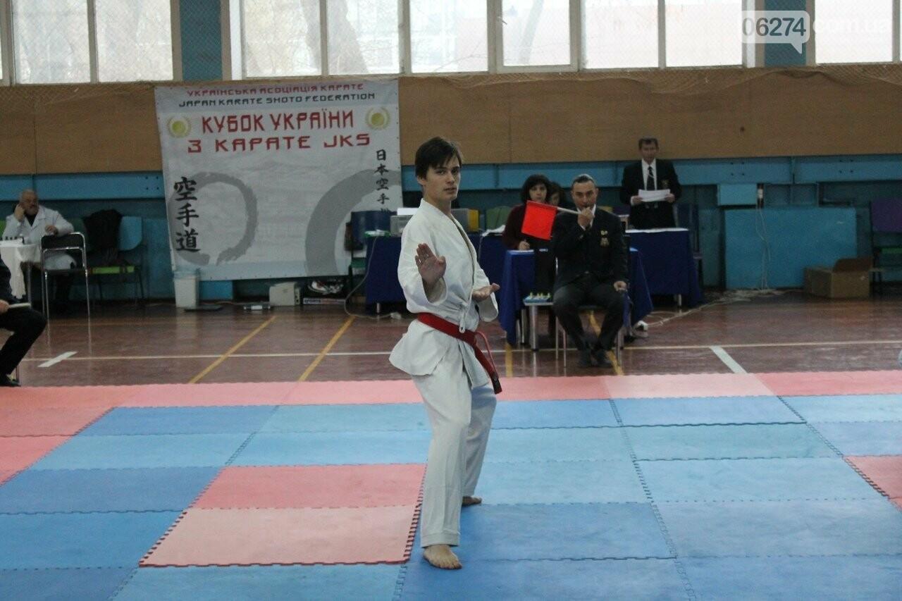 Каратисты Бахмута в составе областной сборной успешно выступили на Кубке Украины, фото-1
