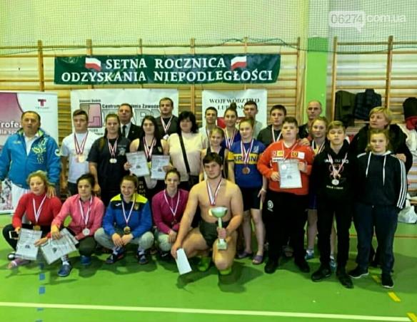 Сумоистки Бахмута завоевали семь наград в Люблине, фото-1