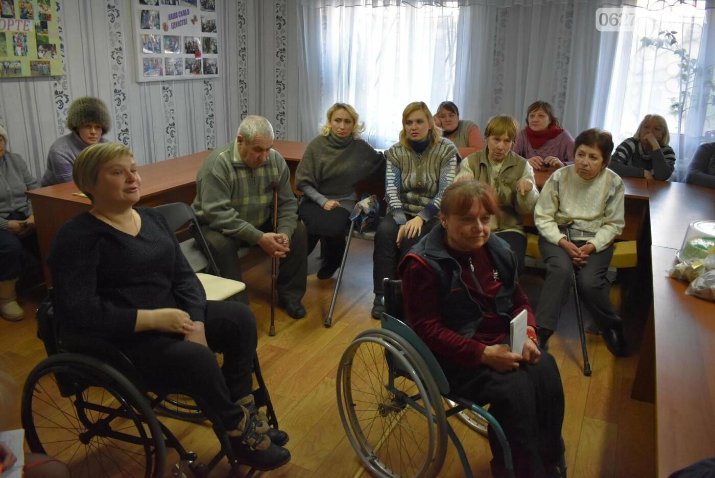 Бахмутский городской голова встретился с членами общества людей с инвалидностью «Надежда», фото-2