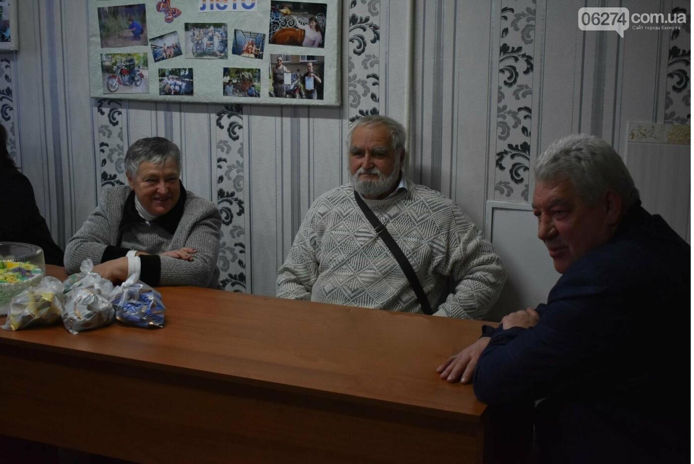 Бахмутский городской голова встретился с членами общества людей с инвалидностью «Надежда», фото-7