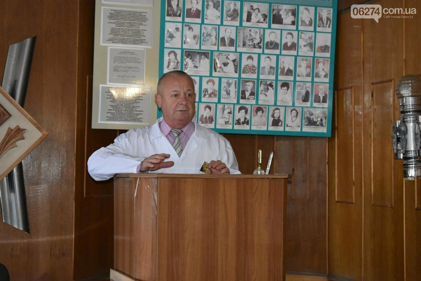 Мэр Бахмута Алексей Рева провел рабочую встречу с коллективом стоматполиклиники, фото-3